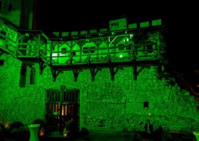 Zamek Korzkiew - dekoracja światłem 10