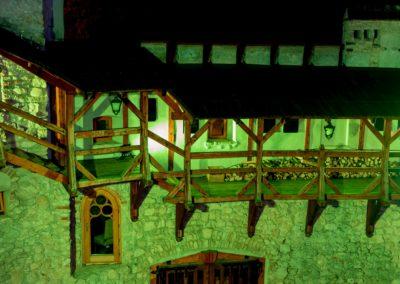 Zamek Korzkiew - dekoracja światłem 13