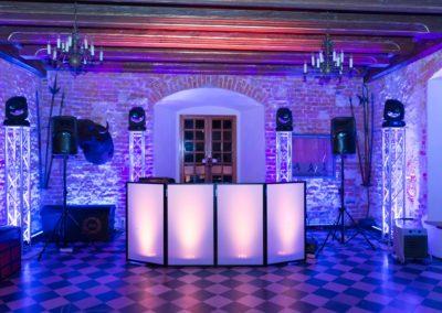 Zamek Korzkiew - dekoracja światłem 17