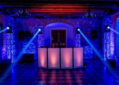 Zamek Korzkiew - dekoracja światłem 18