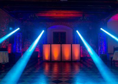 Zamek Korzkiew - dekoracja światłem 19