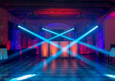 Zamek Korzkiew - dekoracja światłem 20